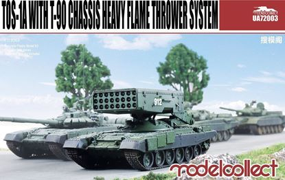 Picture of TOS-1A with T-90 Chassis Heavy Flame Thrower System