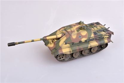 Picture of WWII german E-75 Jagdpanther with 128/L55 gun, 1946