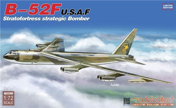 Picture of B-52F U.S.A.F Stratofortress strategic Bomber